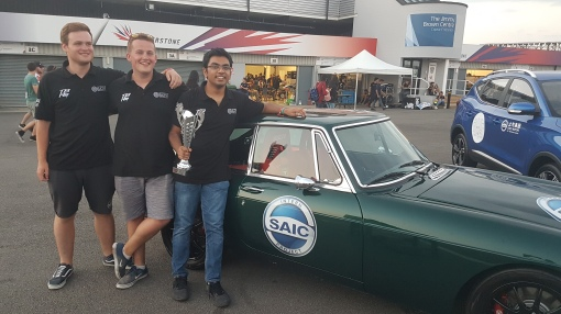 SIAC Motor Technical Centre UK, our platinum sponsor