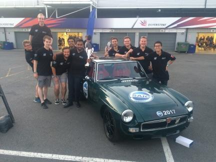 SAIC Motor Technical Centre UK, our platinum sponsor