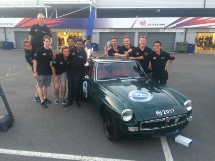 SAIC Motor Technical Centre UK, our platinum sponsor