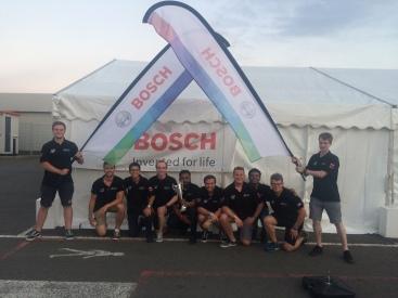 BOSCH, a gold sponsor